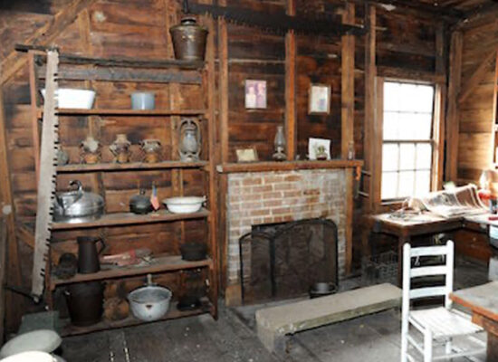 Workers' house interior